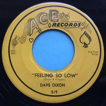 Dave Dixon - Feeling so low - Ace - VG+