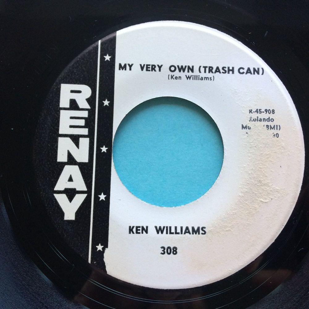 Ken Williams - My very own (Trash Can) - Renay promo - Ex (slight warp/label wear)