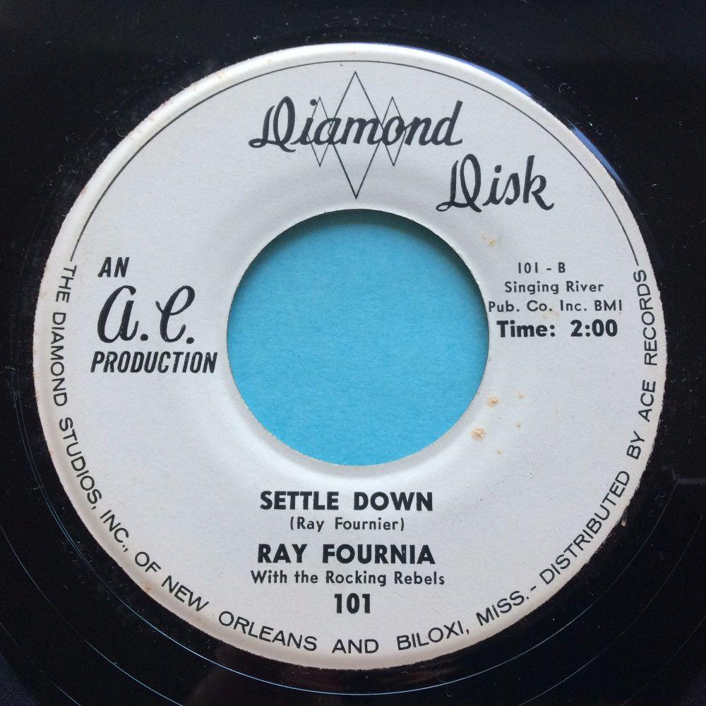 Ray Fournia - Settle down - Diamond Disk - Ex