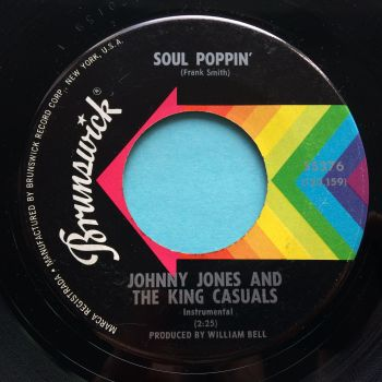 Johnny Jones & The King Casuals - Soul Poppin' - Brunswick - Ex-
