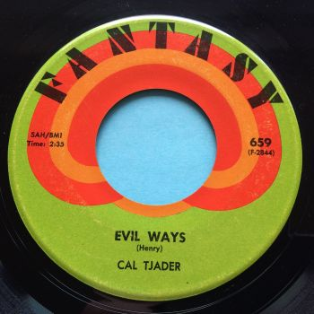 Cal Tjader - Evil Ways - Fantasy - Ex