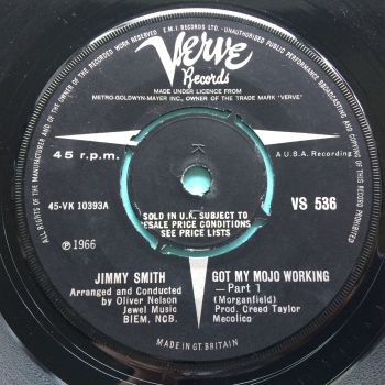 Jimmy Smith - Got my mojo working - U.K. Verve - Ex-