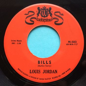 Louis Jordan - Bills - Warwick - Ex-