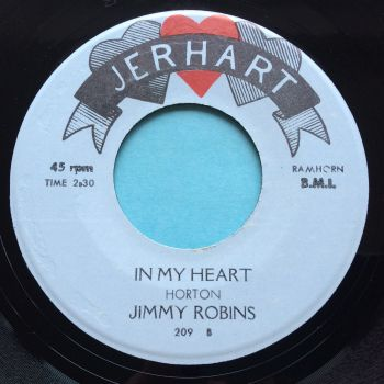 Jimmy Robins - In my heart - Jerhart - Ex-