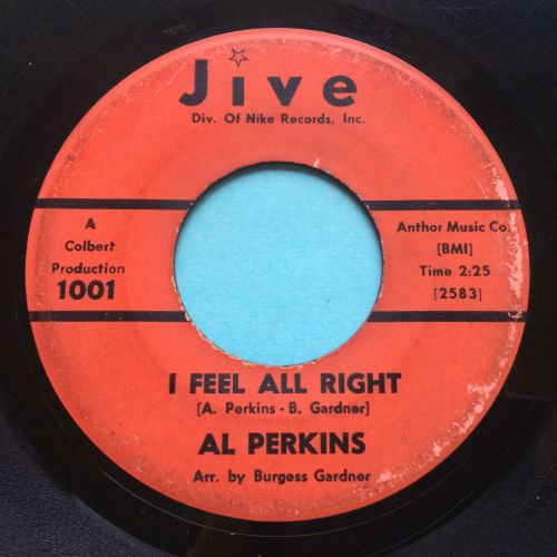 Al Perkins - I feel alright b/w It's good enough - Jive - VG+
