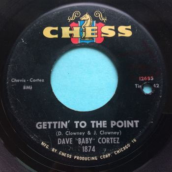 """Dave """"Baby"""" Cortez - Gettin' to the point - Chess - VG+"""