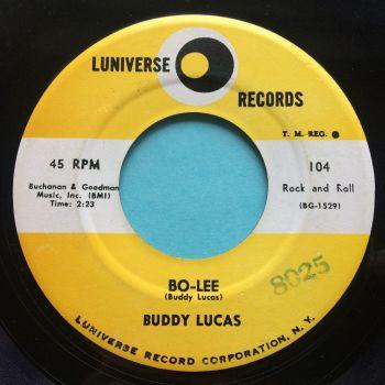 Buddy Lucas - Bo-Lee - Luniverse - VG+