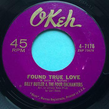 Billy Butler - Found true love b/w Lady love - Okeh - Ex-