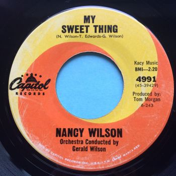 Nancy Wilson - My sweet thing - Capitol - Ex-