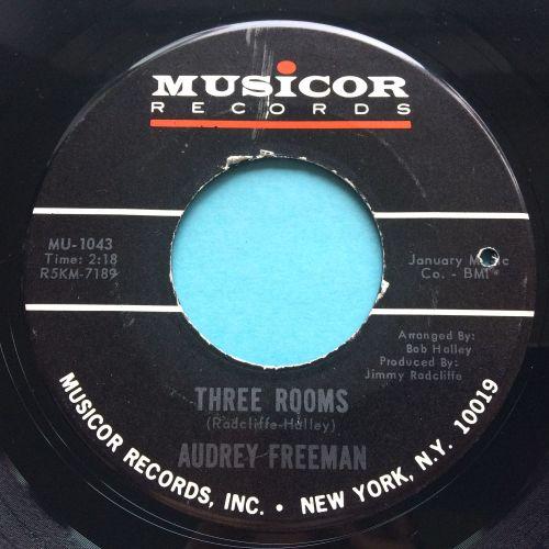 Audrey Freeman - Three Rooms - Musicor - Ex