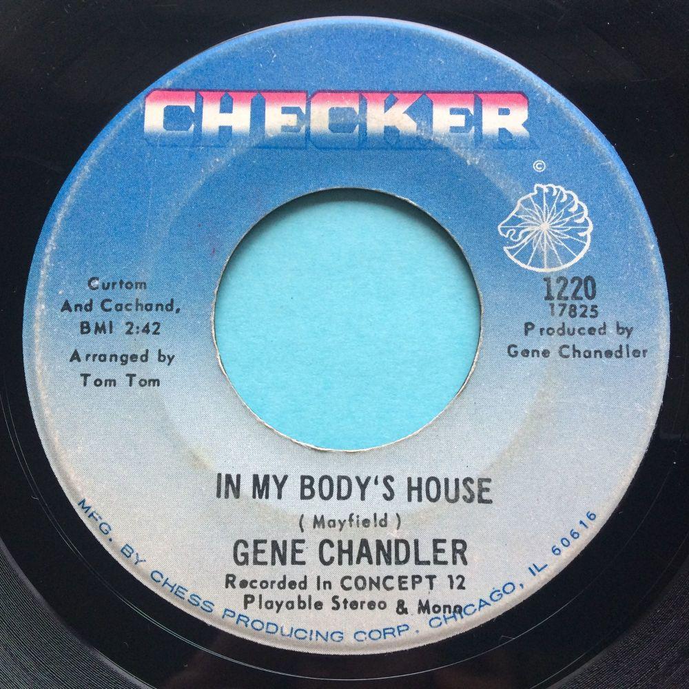 Gene Chandler - In my body's house - Checker - VG+