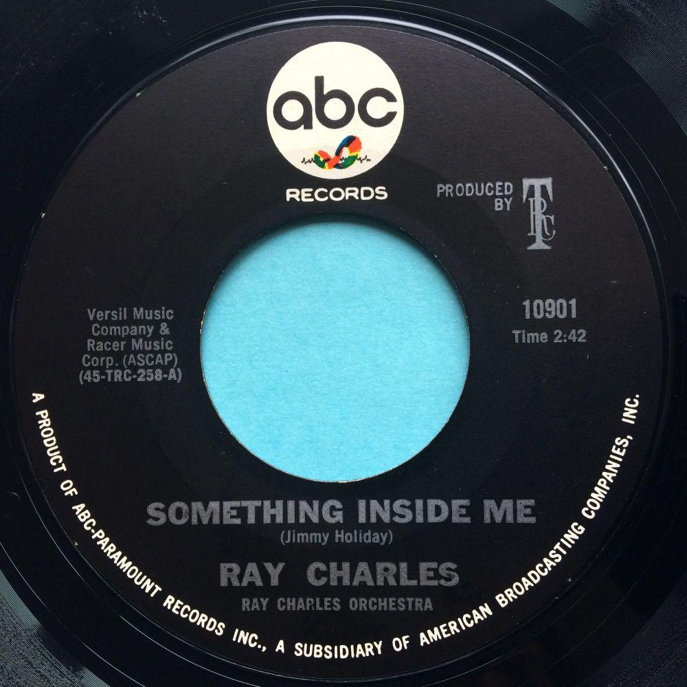 Ray Charles - Something inside me - ABC - Ex-