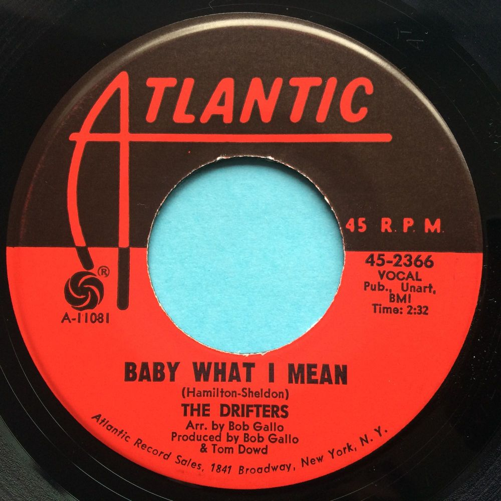 Drifters - Baby what I mean - Atlantic - VG+