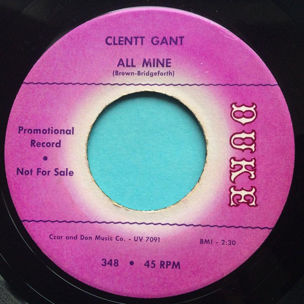 Clentt Gant - All Mine - Duke promo - Ex-