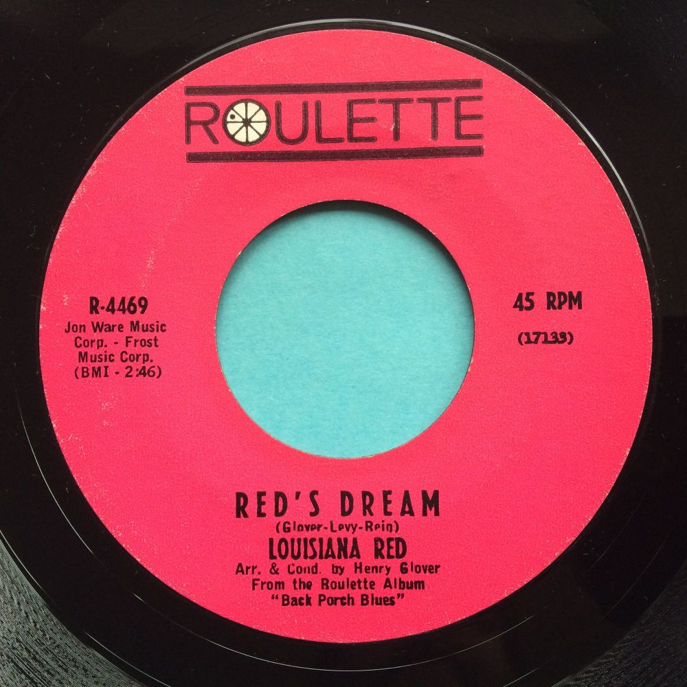 Louisiana Red - Ride on Red, ride on b/w red's Dream - Roulette - Ex-