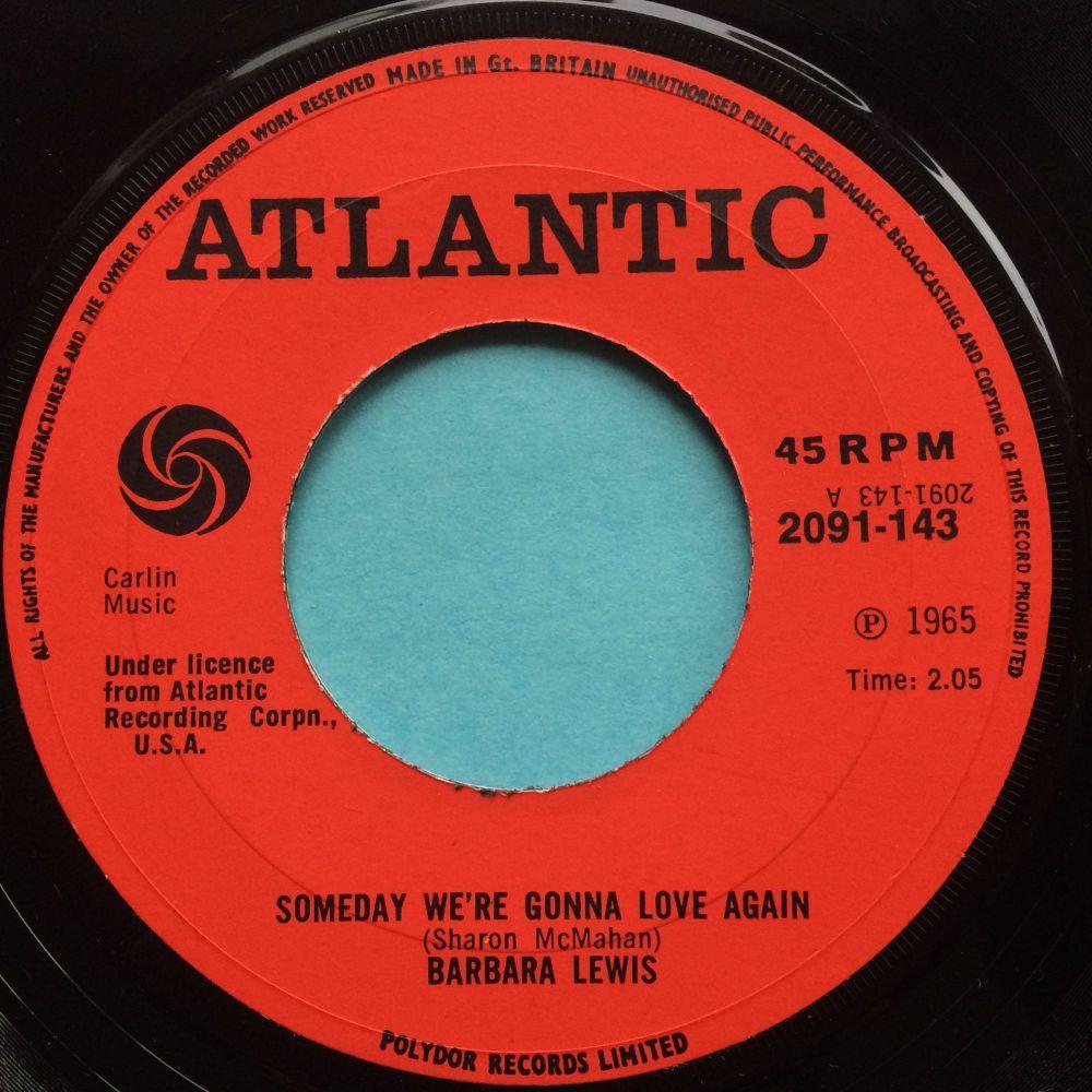 Barbara Lewis - Someday we're gonna love again - UK Atlantic - Ex-