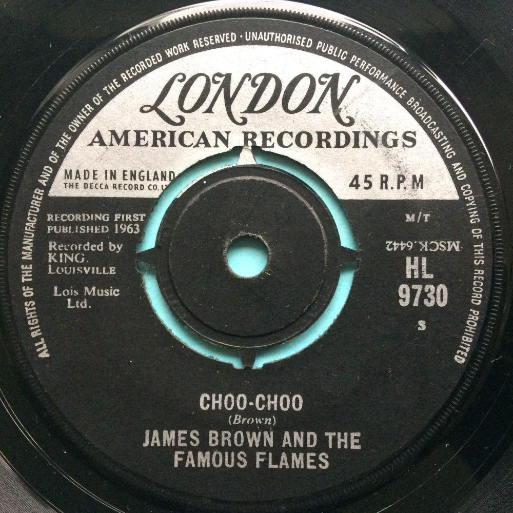 James Brown - Choo Choo - U.K. London - VG+