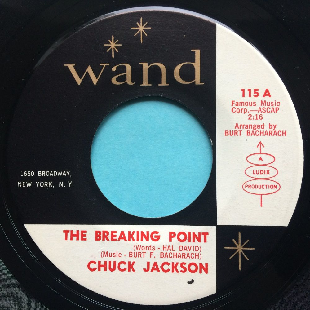 Chuck Jackson - The breaking point - Wand - Ex-