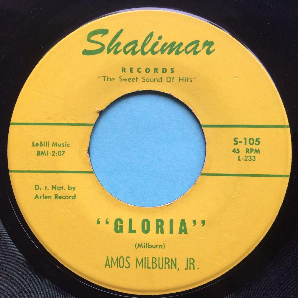 Amos Milburn Jr. - Gloria - Shalimar - Ex