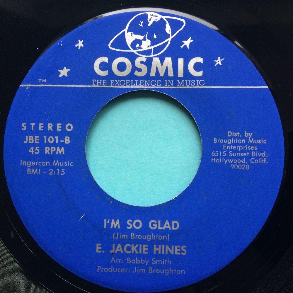 E. Jackie Hines - I'm so glad - Cosmic - Ex