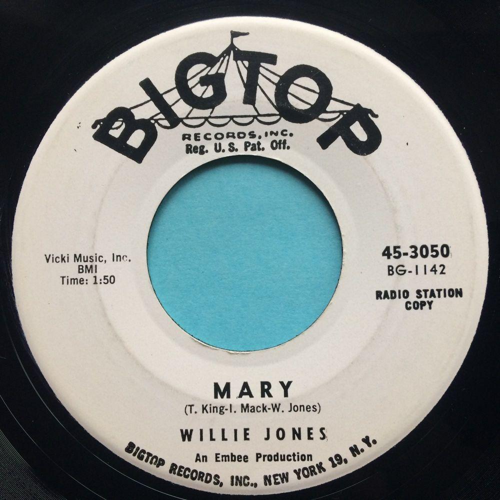 Willie Jones - Mary - Bigtop promo - Ex