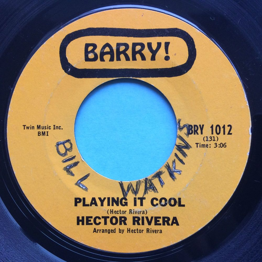 Hector Rivera - Playing it cool - Barry - VG+ (wol)