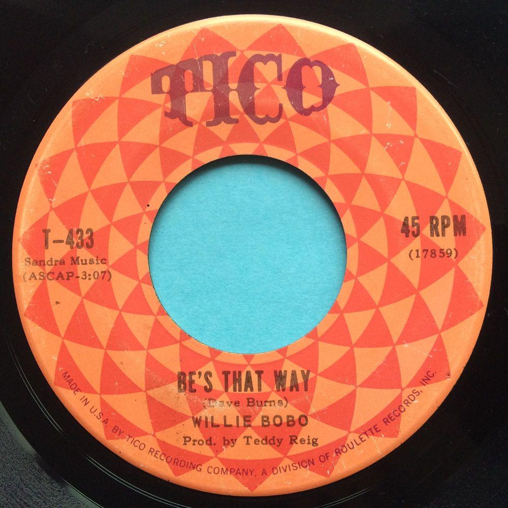 Willie Bobo - Be's that way - Tico - Ex-