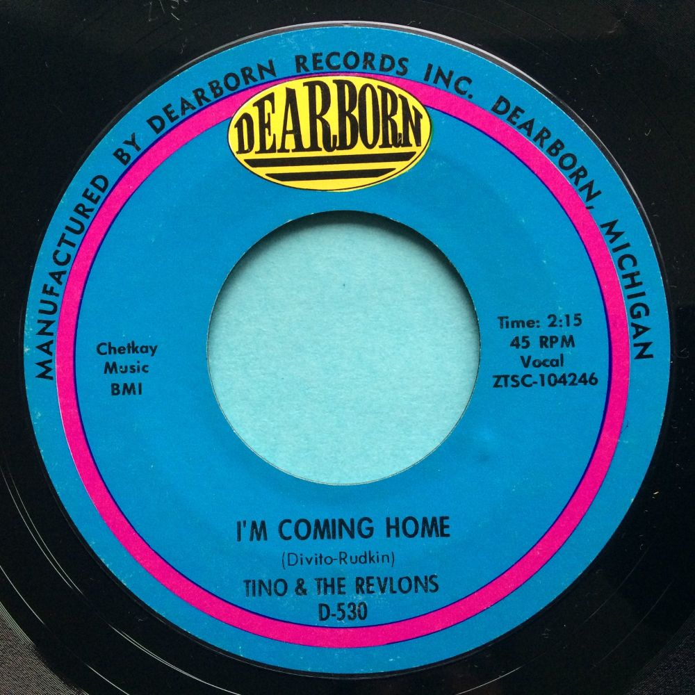 Tino & The Revlons - I'm coming home - Dearborn - Ex-