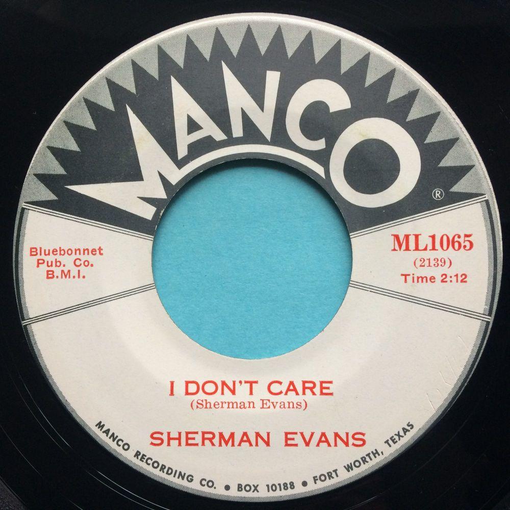 Sherman Evans - I don't care - Manco - Ex
