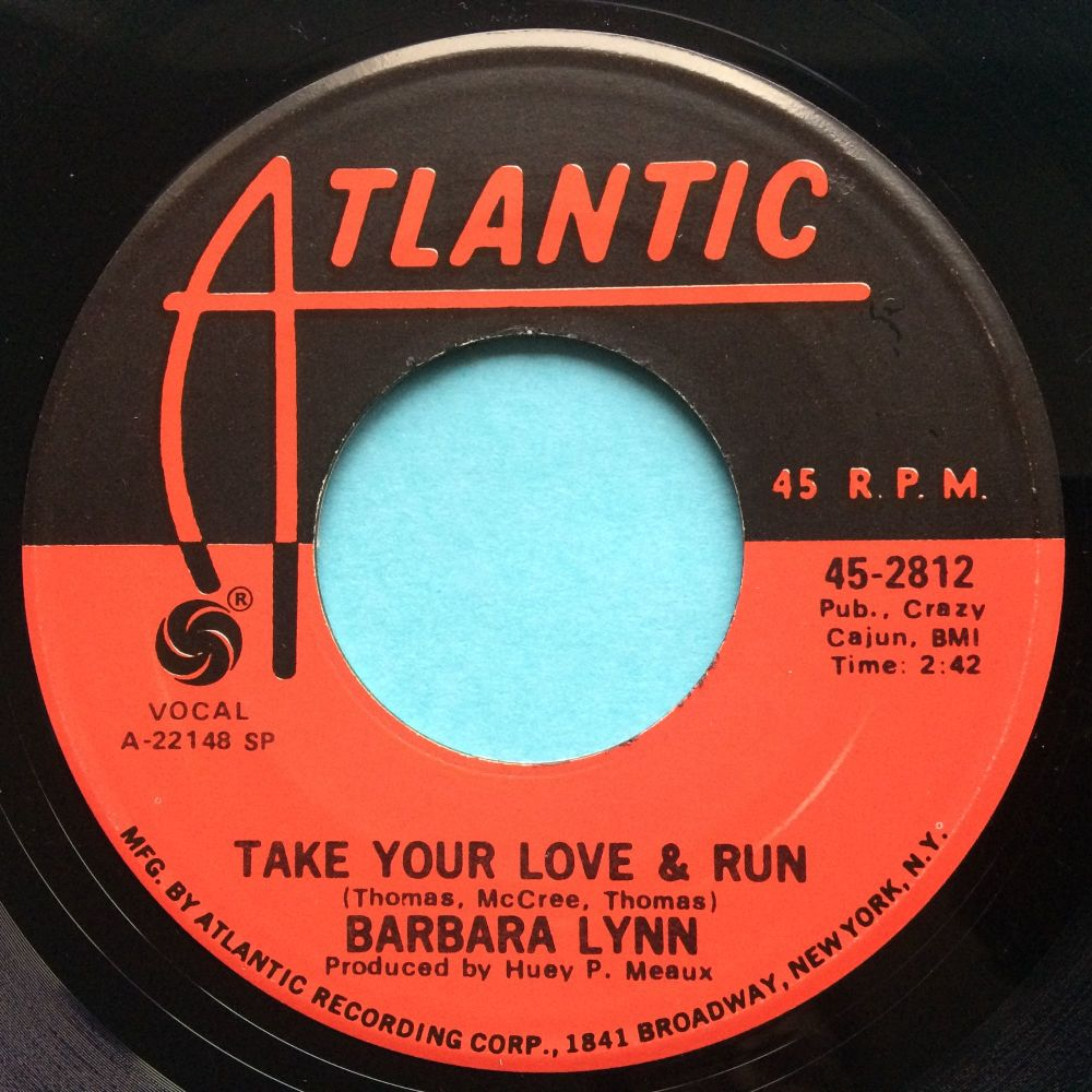 Barbara Lynn - Take your love and run - Atlantic - Ex