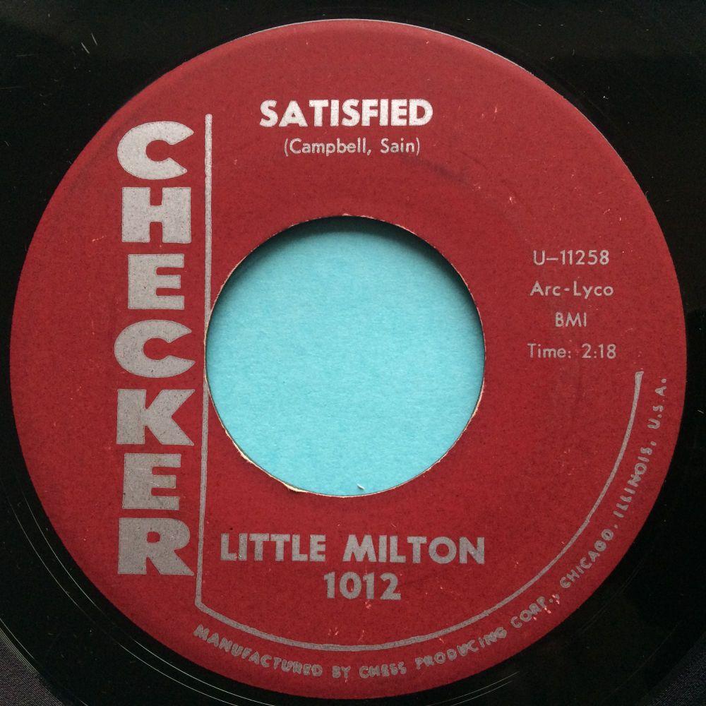 Little Milton - Satisfied - Checker - Ex-