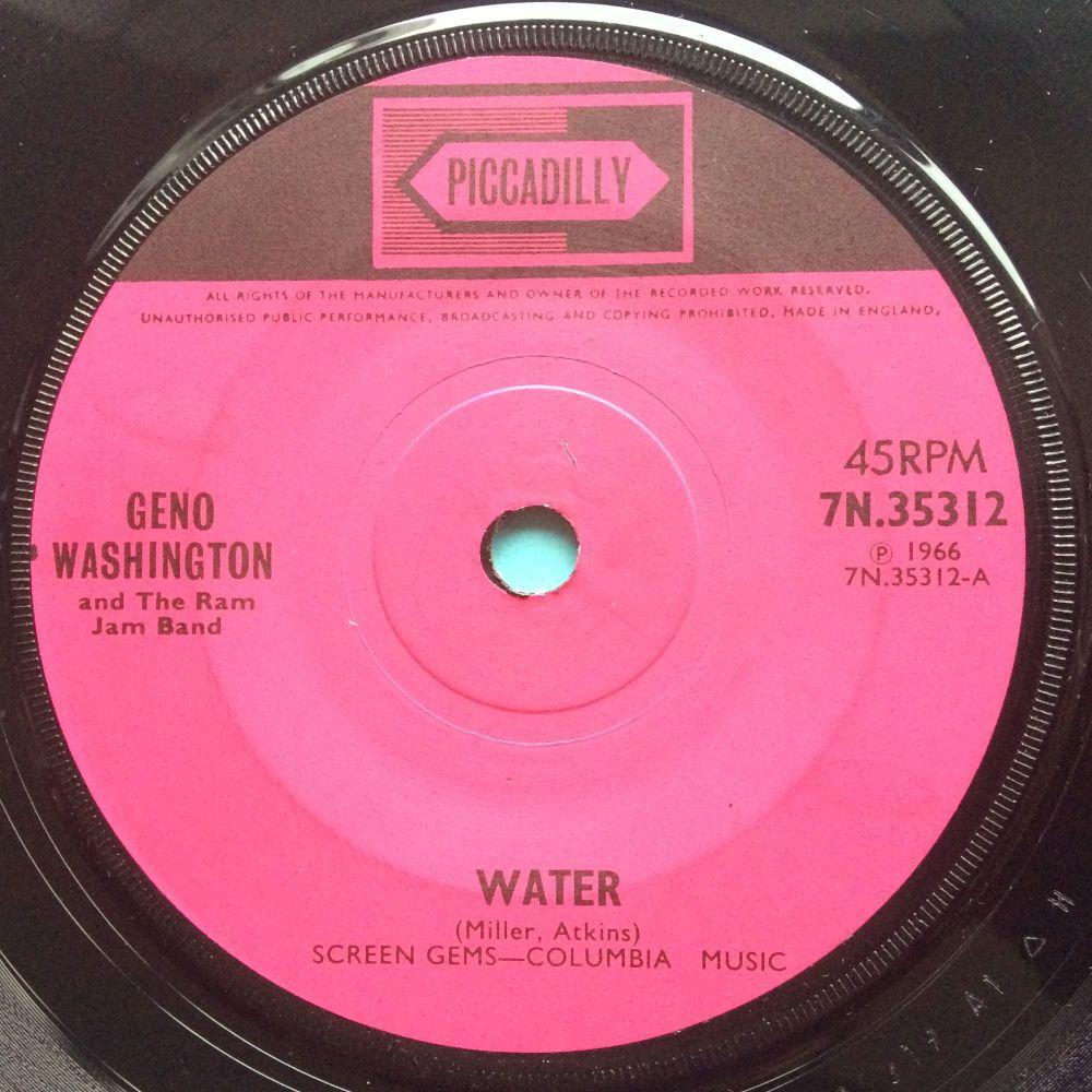Geno Washington - Water b/w Understanding - U.K. Piccadilly - Ex
