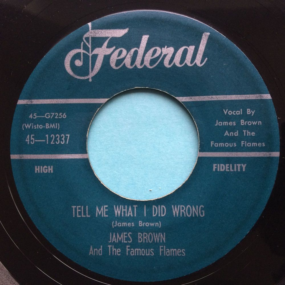 James Brown - Tell me what I did wrong - Federal - Ex