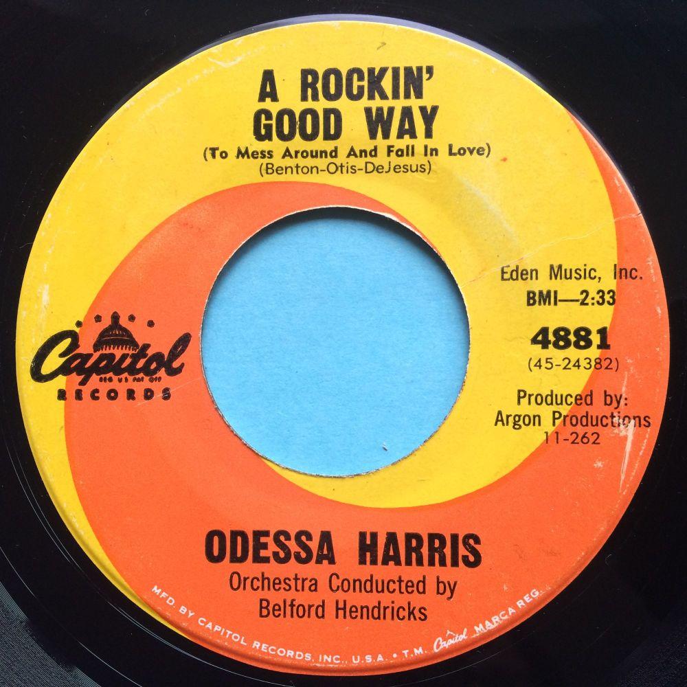 Odessa Harris - A rockin' good way - Capitol - Ex-