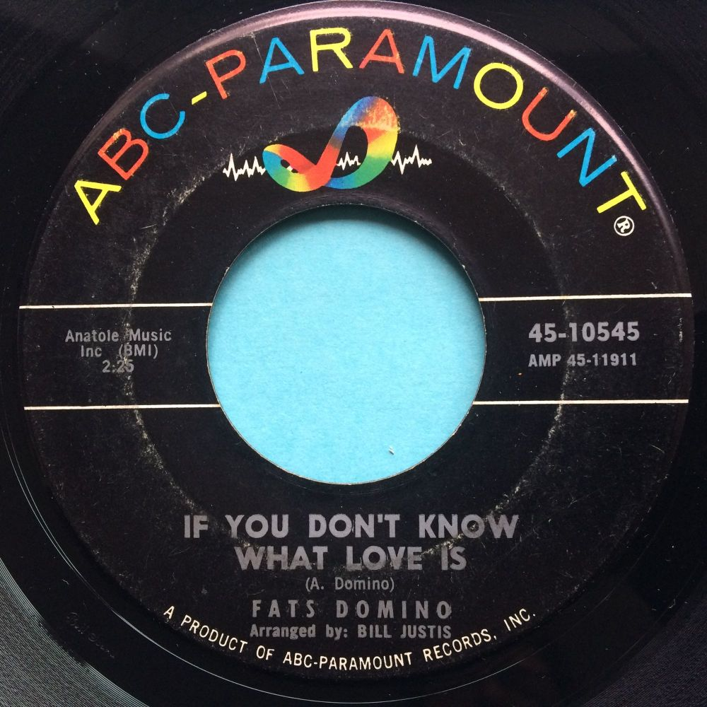 Fats Domino - If you don't know what love is - ABC - VG+