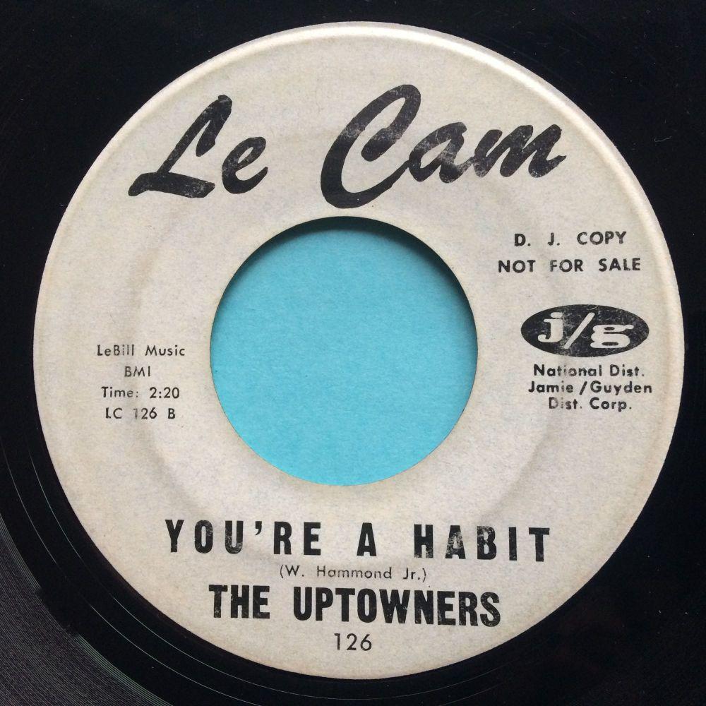Uptowners - You're a habit - Le Cam promo - VG+