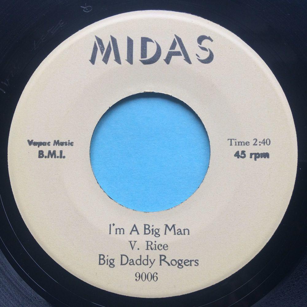 Big Daddy Rogers - I'm a big man - Midas - Ex