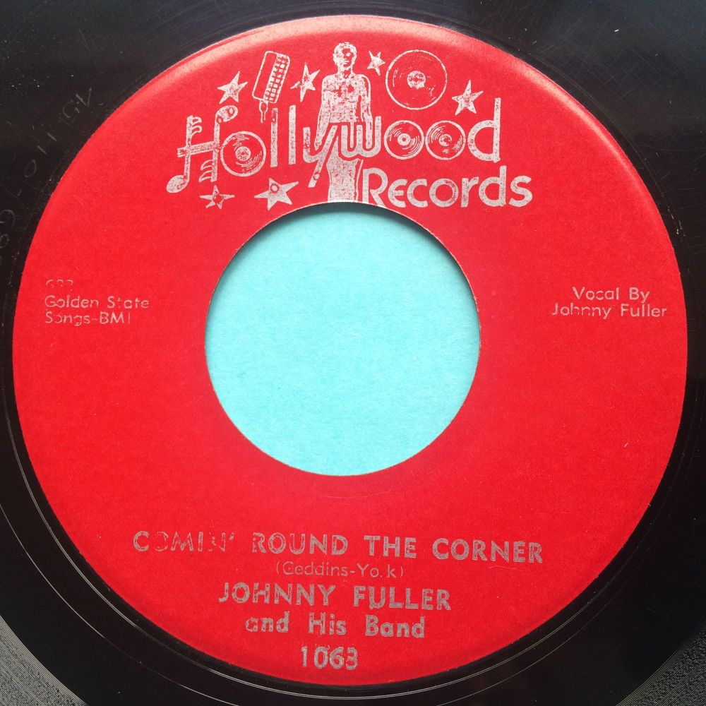 Johnny Fuller - Comin' round the corner - Hollywood - Ex-