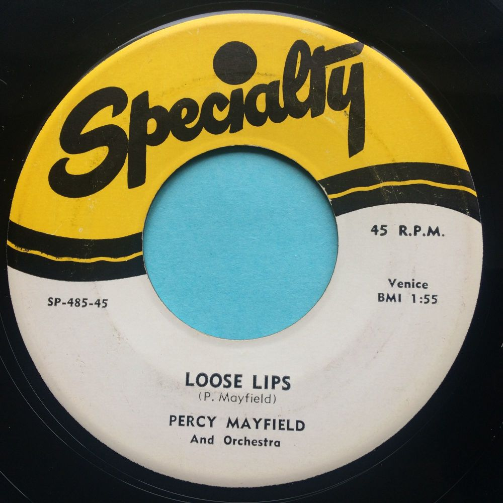 Percy Mayfield - Loose lips - Specialty - Ex