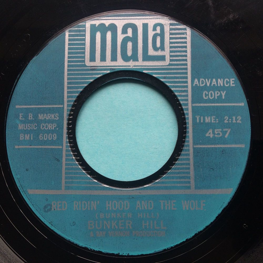Bunker Hill - Red Riding Hood and the Wolf - Mala promo - VG+