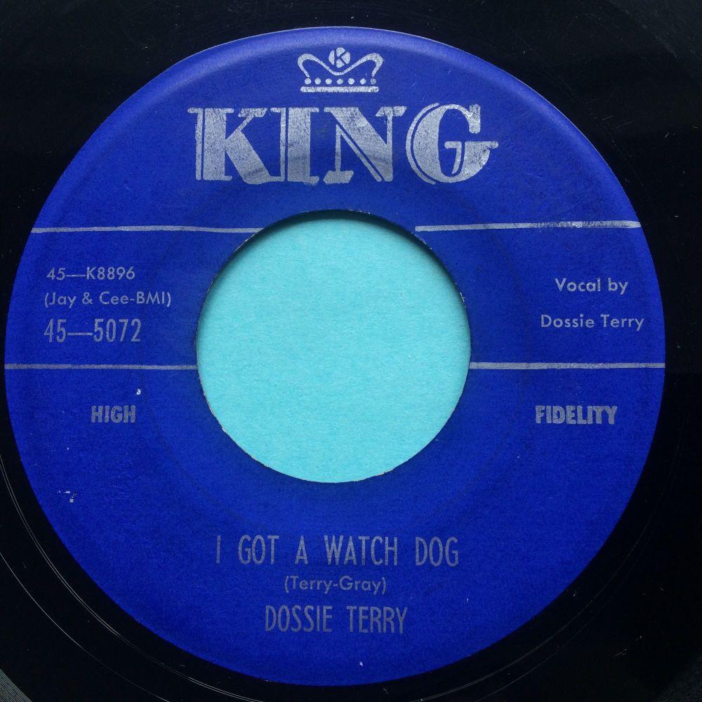 Dossie Terry - I got a watch dog b/w Thunderbird- King - VG+