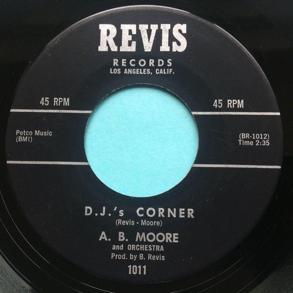 A B Moore - DJs Corner - Revis - Ex