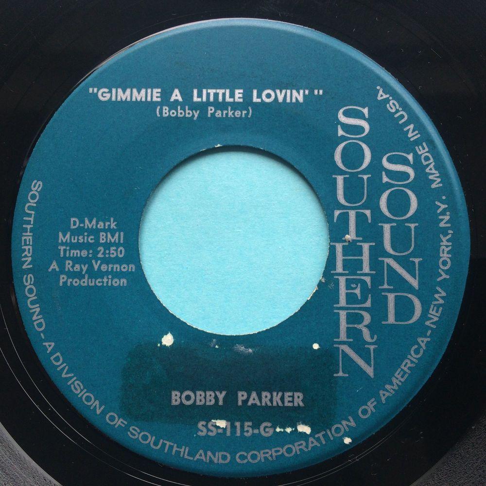 Bobby Parker - Gimmie a little lovin' b/w Do the monkey - Southern Sound -