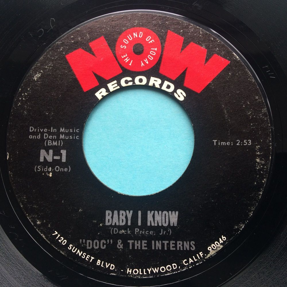 Doc & Interns - Baby I know - Now - VG+