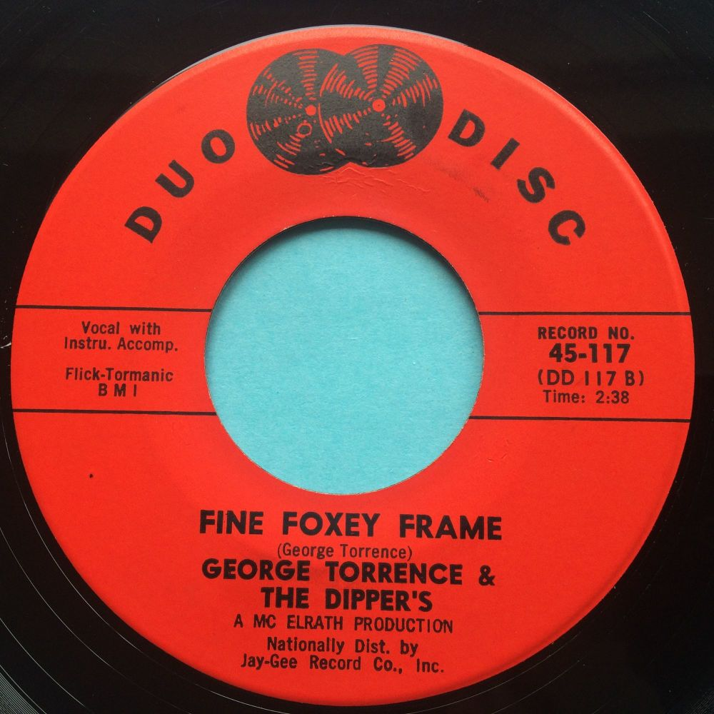 George Torrence - Fine Foxy Frame - Duo Disc - Ex