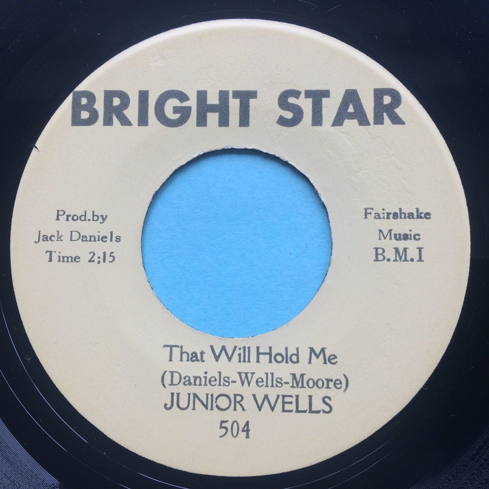 Junior Wells - I found out - Bright Star - Ex