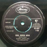 Quincy Jones & Orch - Soul Bossa Nova - U.K. Mercury - Ex-