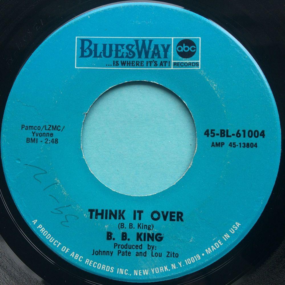 B. B. King - Think it over - Bluesway - Ex-