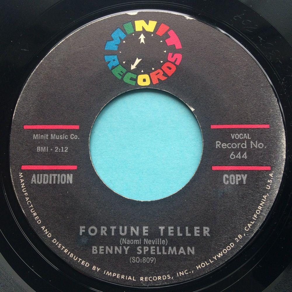 Benny Spellman - Fortune Teller - Minit - Ex-