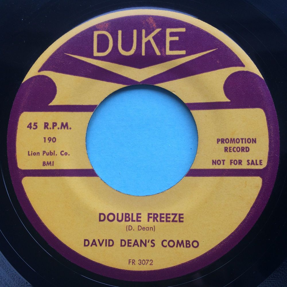David Deans Combo - Double Freeze - Duke - Ex-